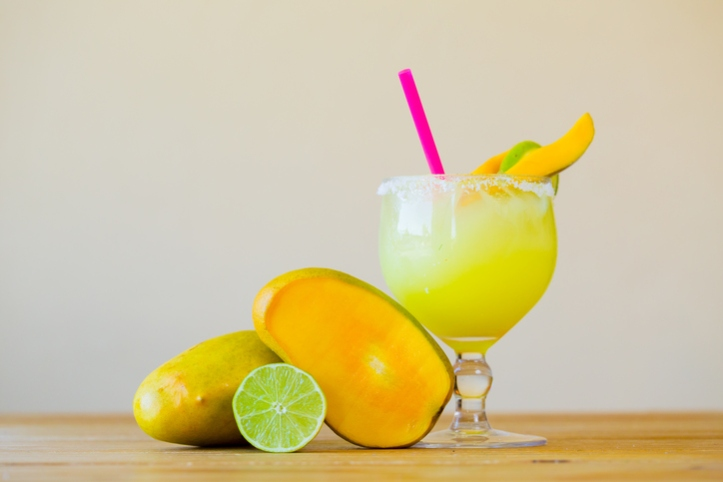 Mango Margarita with Lime