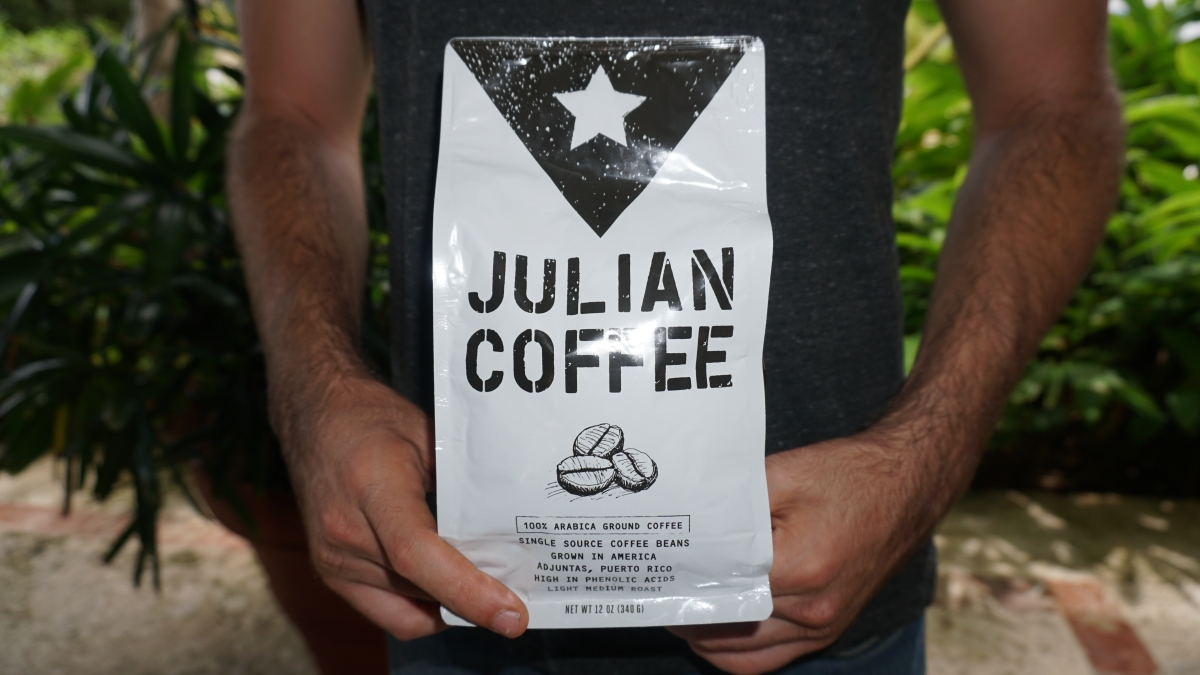 Un jóven americano lo apuesta todo por el café boricua