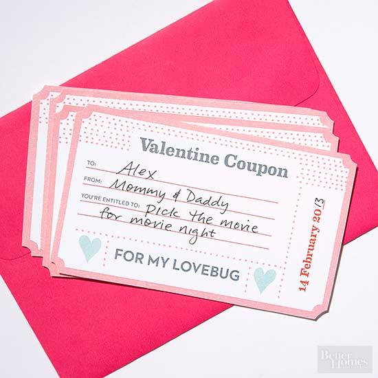 Valentine copupons