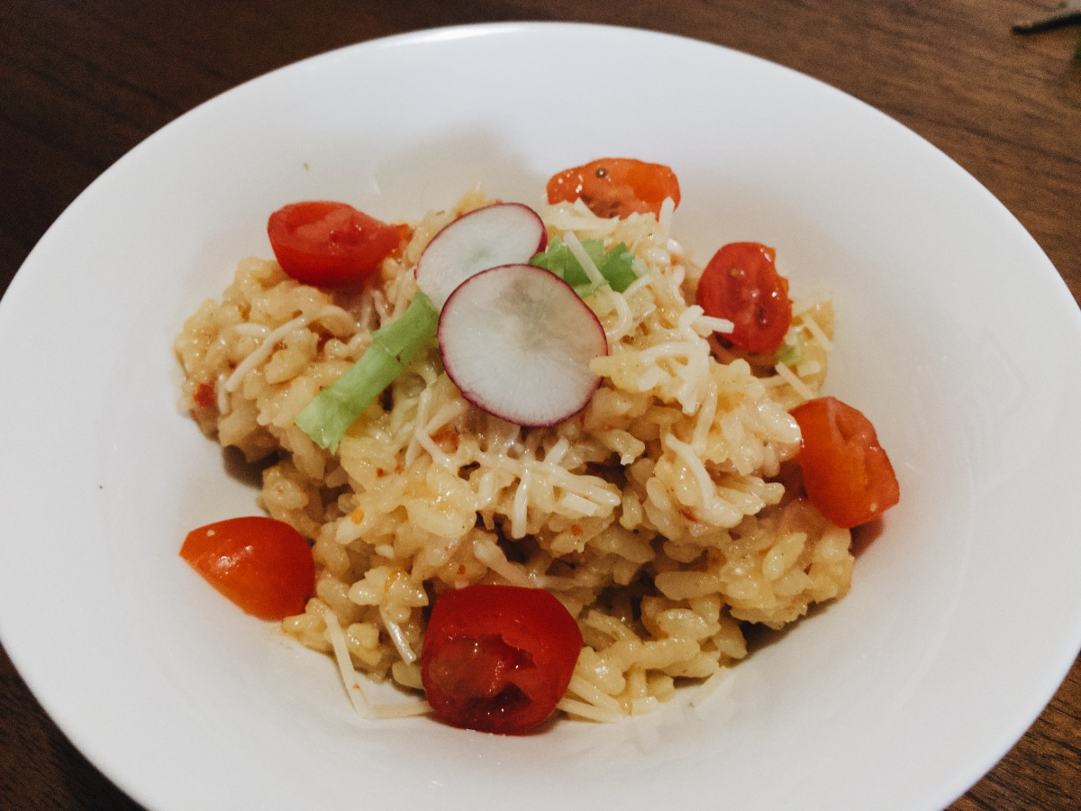 Vegan Sun Dried Tomatoes Risotto (GT Free)