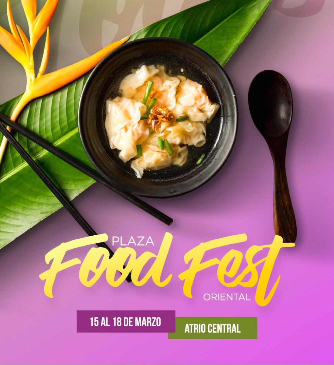 Transporta tu paladar al oriente con PLAZA Food Fest 2018 Oriental