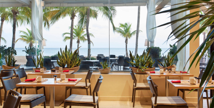 Café Tropical, Courtyard by Marriott Isla Verde