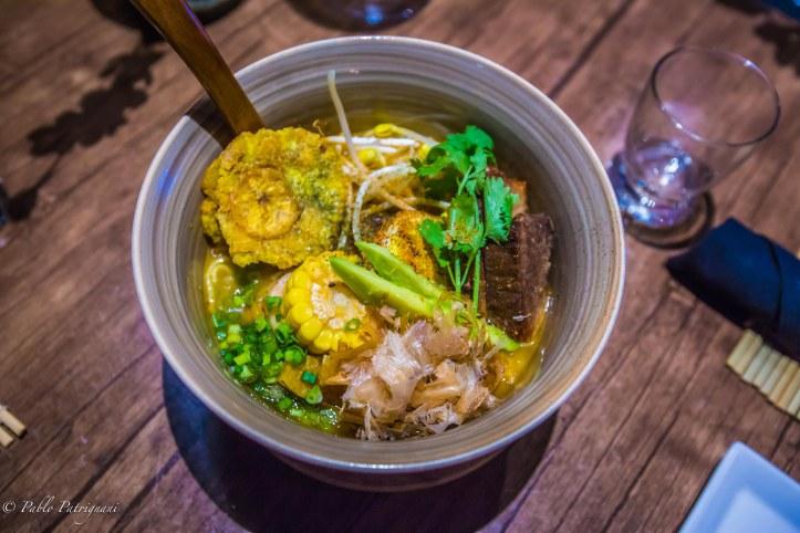 Sancocho Ramen Dish